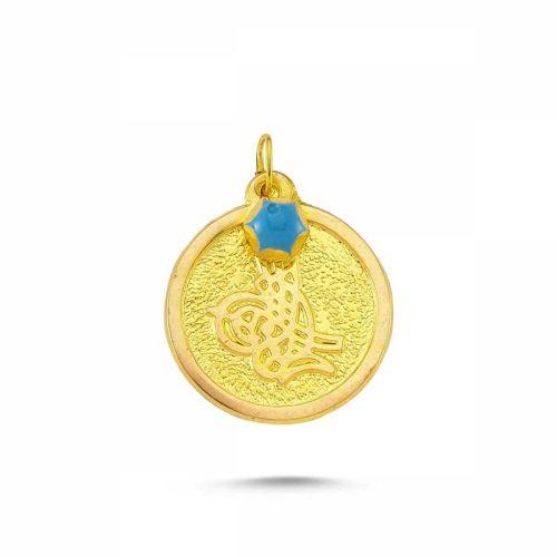 SembolGold - Altın MAŞALLAH Tefsiri Tuğra SK42-743707
