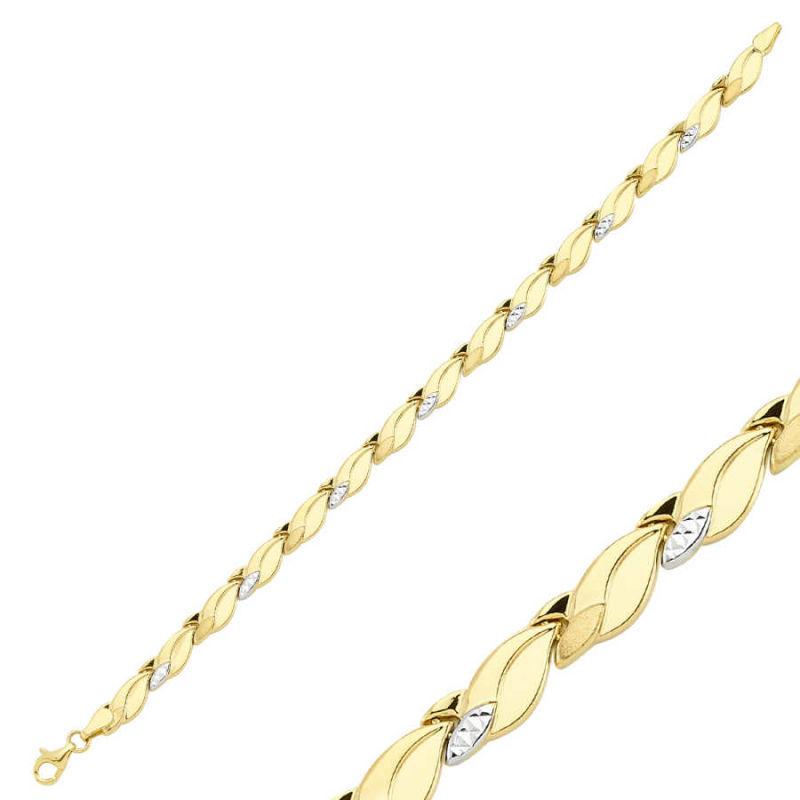 14 Ayar Altın Bileklik Modeli 5.15 Gr SG42-900284