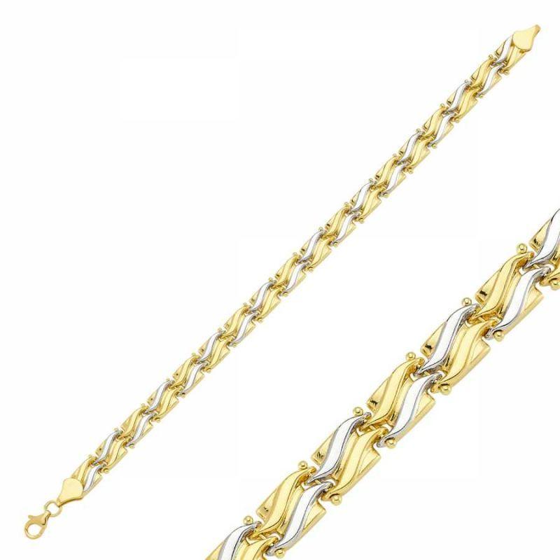 14 Ayar Altın Bileklik Modeli 6.43 Gr SG42-900281