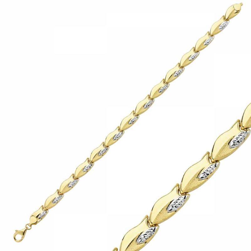 14 Ayar Altın Bileklik Modeli SG42-900278