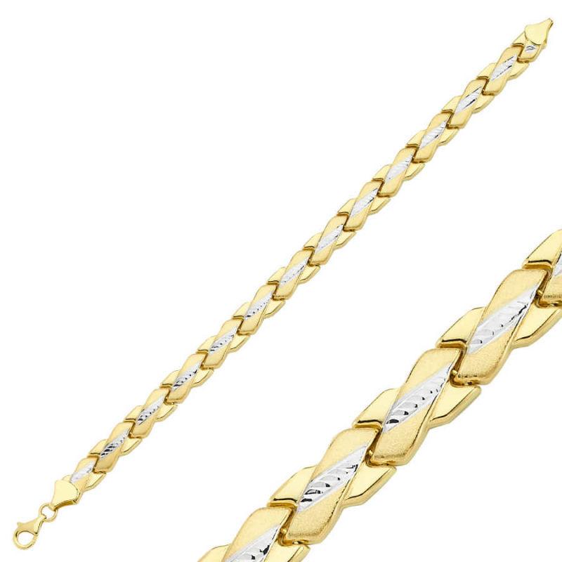 14 Ayar Altın Bileklik Modeli SG42-900283