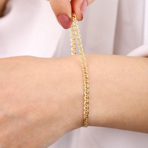 SembolGold - 14 Ayar Altın Nonna Bileklik 3 mm (1)