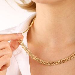 14 Ayar Altın Nonna Zincir 50 cm - Thumbnail