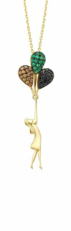 Altın Balon Kolye SG42-89386