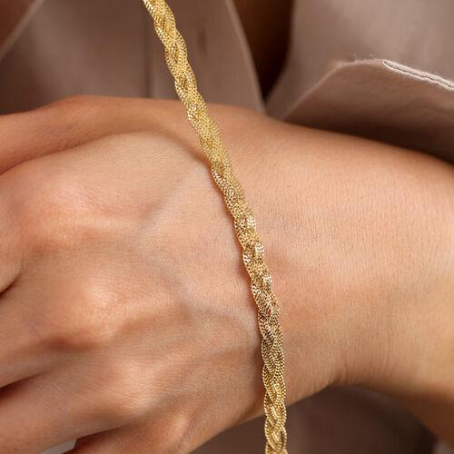 SembolGold - Altın Bileklik 14 Ayar Viyana Sarma 5mm (1)