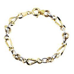 SembolGold - Altın Bileklik Hallow Tasarım 14K Gold