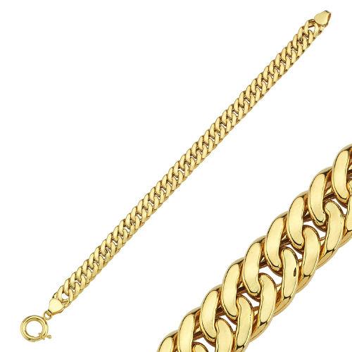 SembolGold - Altın Bileklilk 14K Gold Sarmaşık Tasarım 10 mm Kalınlık