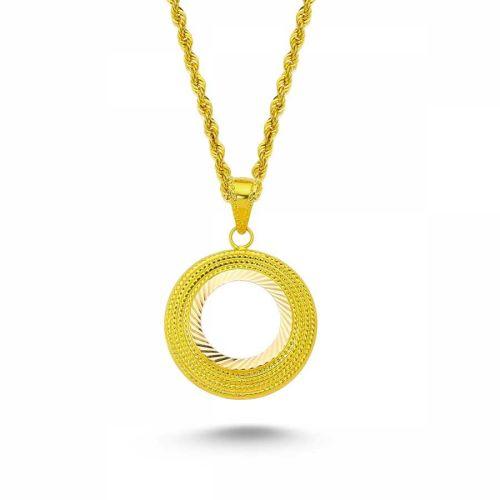 SembolGold - Altın Çeyrekli Kolye