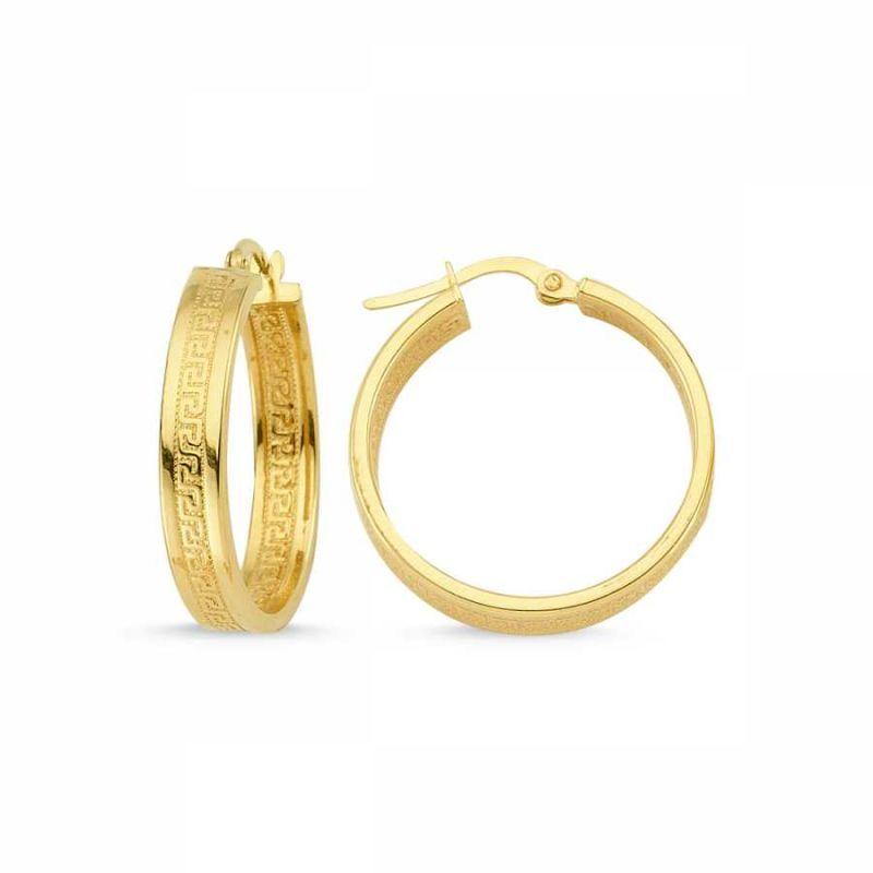 Altın Halka Küpe İtaly SK42-04673577