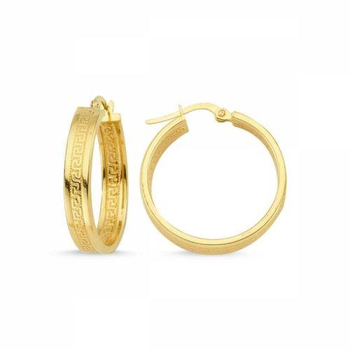 SembolGold - Altın Halka Küpe İtaly SK42-04673577