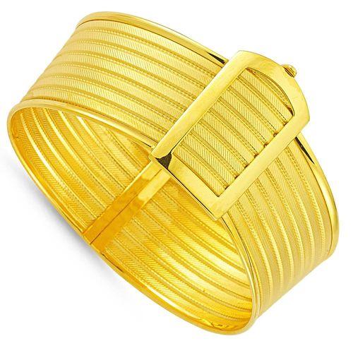SembolGold - Altın Hasır Kelepçe Altı Sıralı (1)