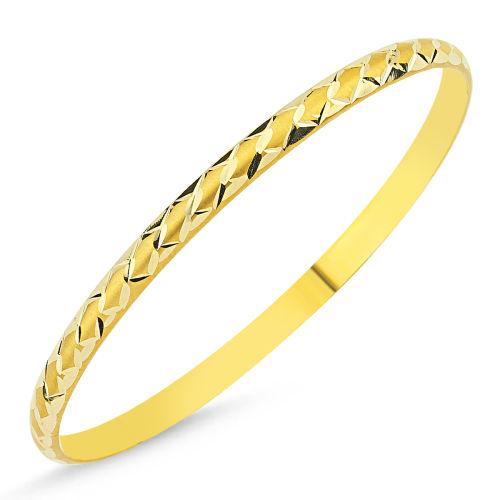 SembolGold - Altın Hediyelik Bilezik Baklama Modeli BLZ5620655