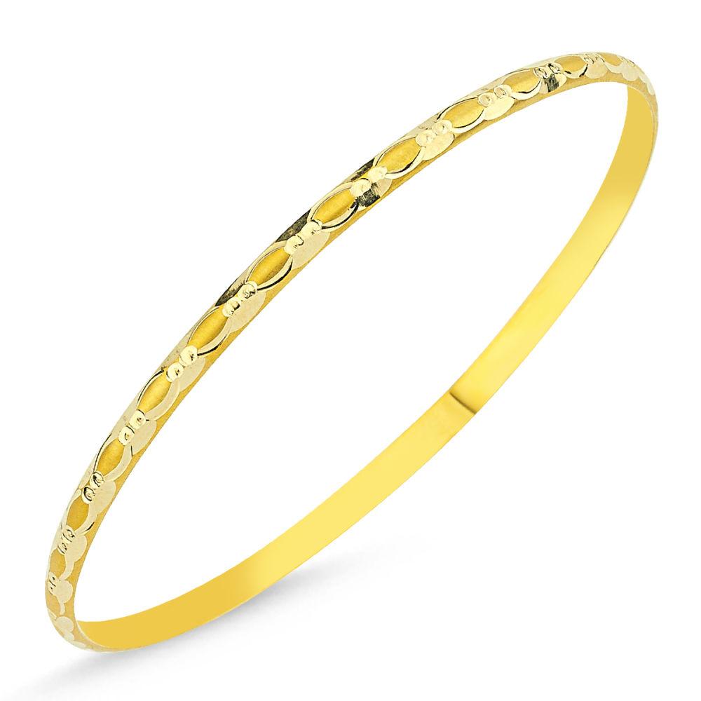 Altın Hediyelik Tel Bilezik Burgu Modeli BLZ5620658