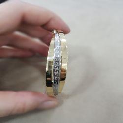 SembolGold - Altın Kelepçe 14K Versage 12 mm (1)