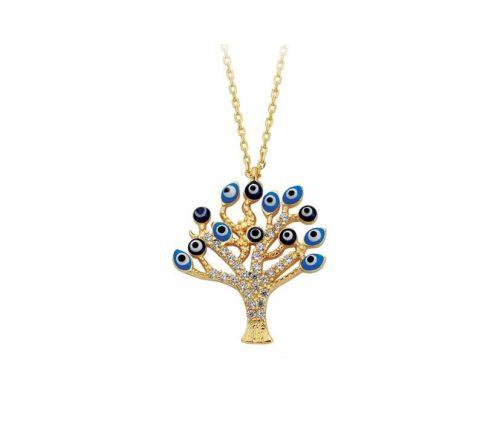 SembolGold - Altın Kolye Hayat Ağacı