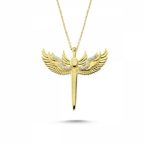 SembolGold - Altın Melek Kolye