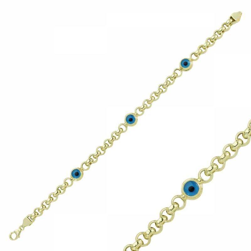 Altın Nazar Boncuklu Bileklik SG42-575180