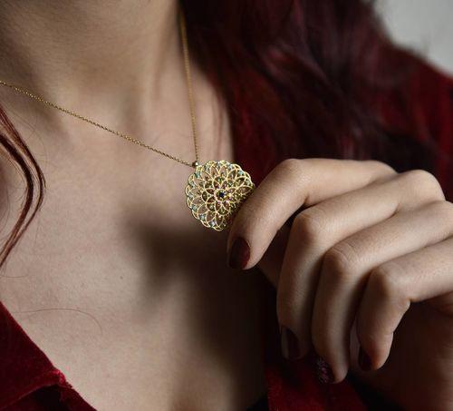 SembolGold - Altın Telkari Kolye (1)