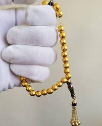 Altın Tesbih Mineli Siens - Thumbnail