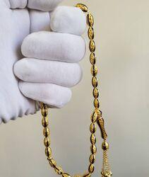 SembolGold - Altın Tesbih Telkari El İşleme Mineli (1)