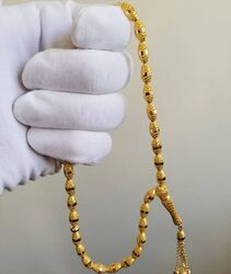 SembolGold - Altın Tesbih Telkari El İşleme Oval (1)