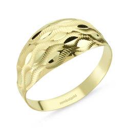 SembolGold - Altın Yüzük 14 Ayar Fantazi Modeli SG42-018323