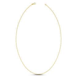 SembolGold - Altın Zincir Aynalı Forse 50 cm