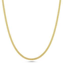 SembolGold - Altın Zincir Saç Örgüsü 60 cm ZNC42-G513