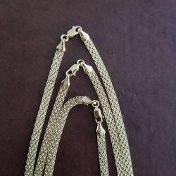 SembolGold - Bismark 55 cm Altın Zincir 14 Ayar 5 mm (1)