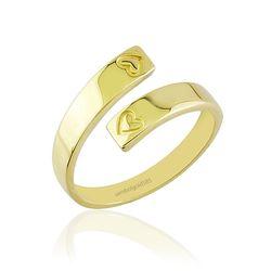 SembolGold - Eklem Altın Yüzük 14K Gold R5445