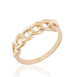 SembolGold - Rose Altın Düğüm Yüzük 14K Gold