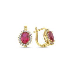 Ruby Altın Anturaj Set Takım S5484155 - Thumbnail