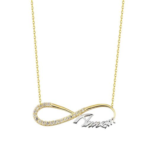 SembolGold - Sonsuz Annem Altın Kolye 14K Gold