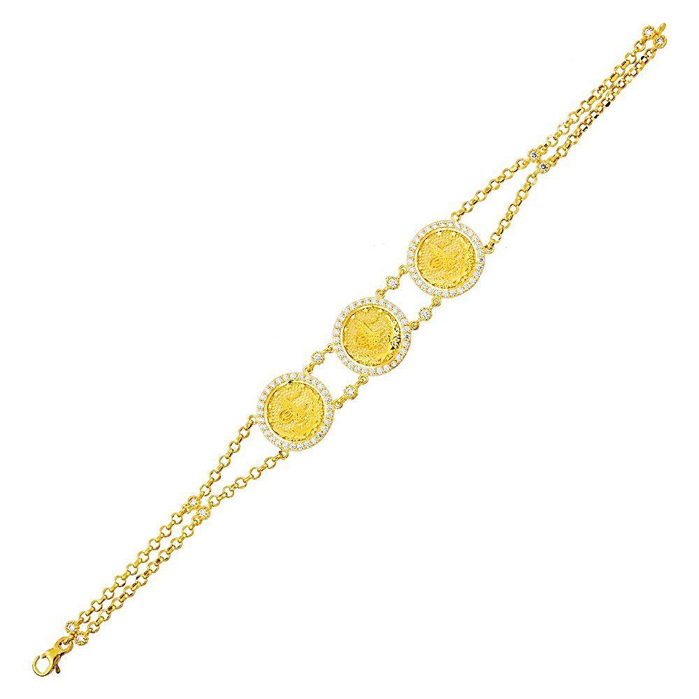 Tugralı Bileklik Sarı Altın 14K Reşat
