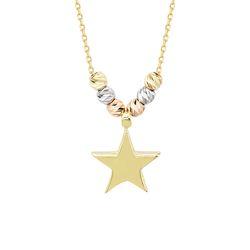 SembolGold - Yıldız Altın Kolye Dorikalı
