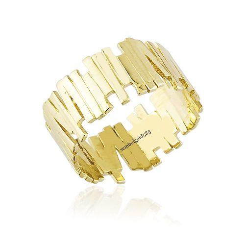 SembolGold - ZigZag Altın Yüzük 14K Gold